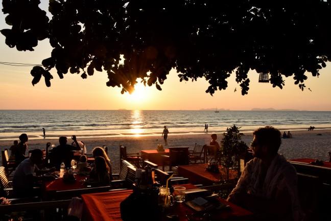 Sunset Klong Dao
